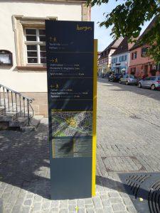 Fußgängerleitsystem Herzogenaurach