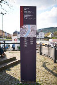 Fußgängerleitsystem Bernkastel-Kues