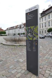 Fußgängerleitsystem Eichstätt OBay