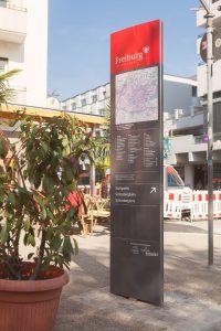 Fußgängerleistsystem Freiburg i.B.
